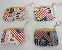 "4.25""x3.5"" Zippered Change Purse [Newsprint]"